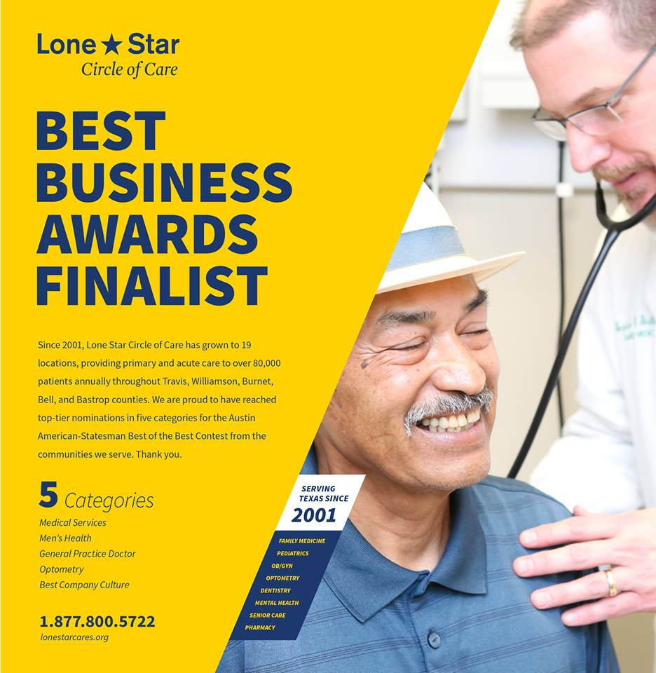 Best Of The Best Finalist Austin Statesman Lone Star Circle Of Care