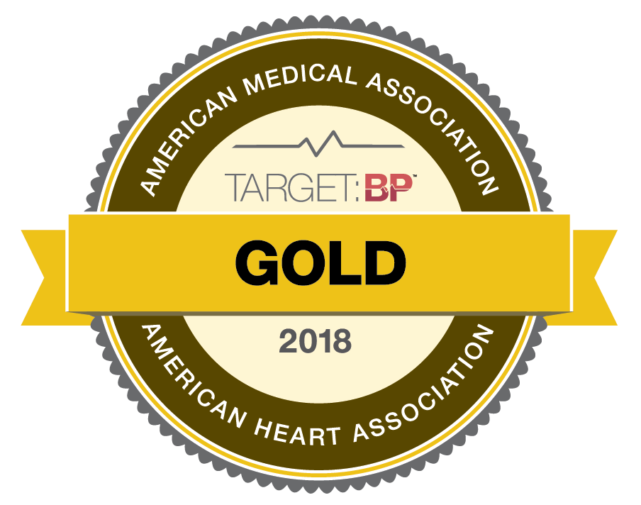 National Recognition for Commitment to Improve Blood Pressure