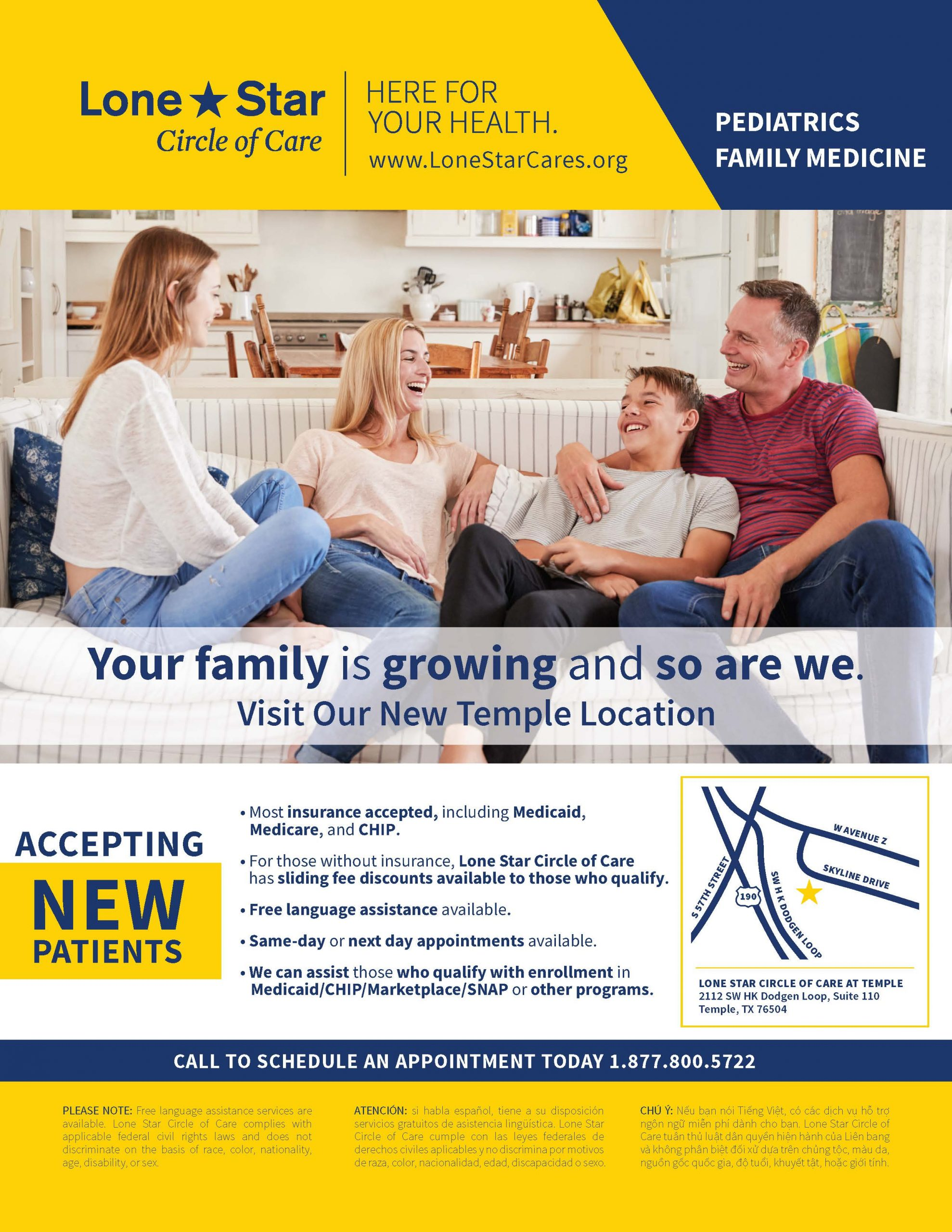 Family Medicine now in Temple