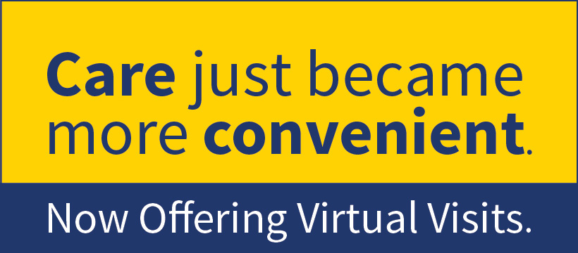 Virtual Visits Now Available